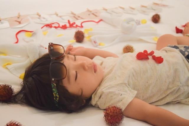 寝相アートの作り方と素敵に仕上げるポイント