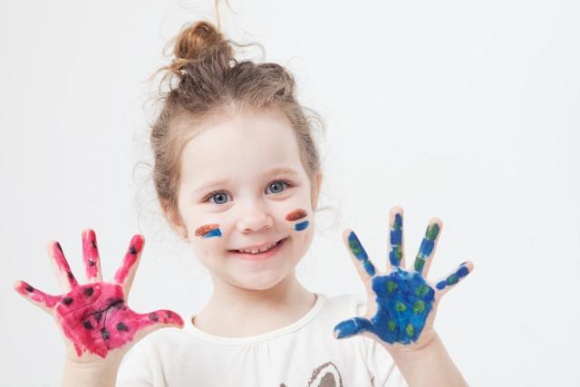 手形アートを楽しもう!
