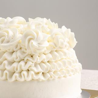 アレルギーに配慮した1歳の誕生日ケーキ タンドールホワイト(5号)