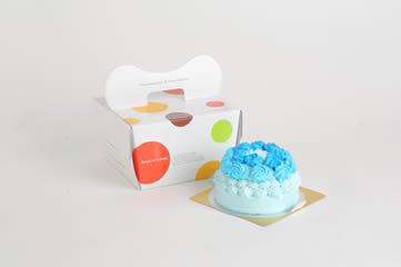1歳の誕生日におすすめのケーキ ブルーローズ(5号)