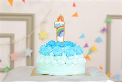 1歳誕生日の贈り物には特別なケーキを~思わず写真を撮りたくなる可愛いケーキ~