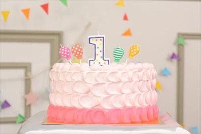 1歳のプレゼント(贈り物)にぴったりなスマッシュケーキ