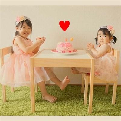 1歳の記念日ケーキと言えば自分専用ケーキ!